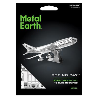 Boeing 747 - Metal Earth