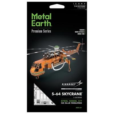 S-64 Skycrane - Metal Earth
