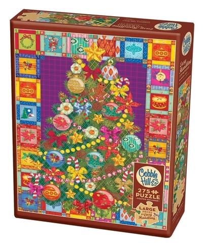 Legpuzzel - 275 - Kerstboom quilt