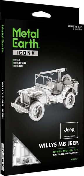 Willys MB Jeep - Metal Earth