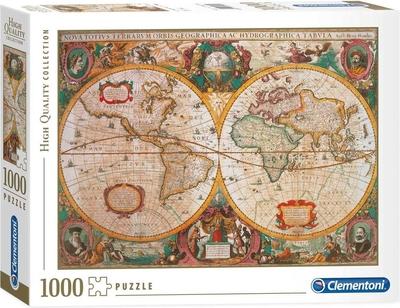 Legpuzzel - 1000 - Antieke wereldkaart