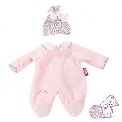 Pyjama met luipaard mutsje - 30-33cm - Götz