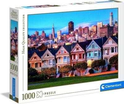 Legpuzzel - 1000 - Painted Ladies San Francisco